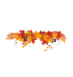 Autumn background with space for text banner with vector