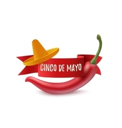 Cinco de mayo background template vector