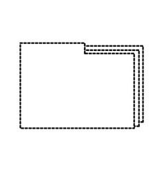 folder file document paper web icon vector image