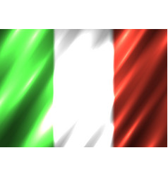 italia national flag background vector image