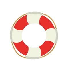 Life bouy lifebelt design vector