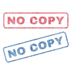 No copy textile stamps vector