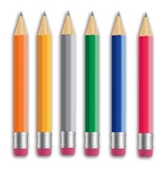 Pencil set Eps 10 vector image