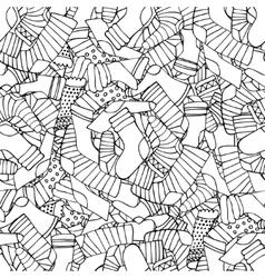Socks background vector