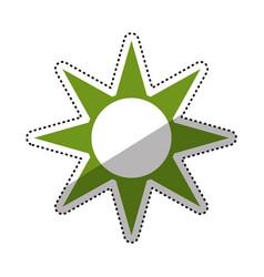 Sun energy symbol vector