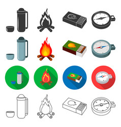 picnic nature leisure and other web icon in vector image vector image