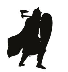 Slavic Warrior vector image vector image