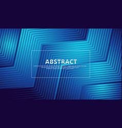 Abstract lines on triangle shape background for vector