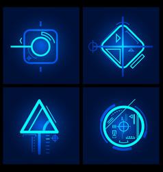 Technology design element vector