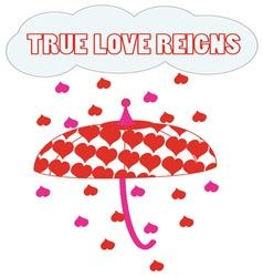 True Love Reigns vector
