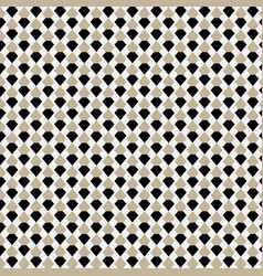 brown geometric seamless pattern background vector image