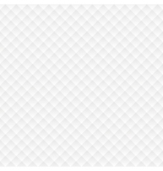 Rhombus seamless white background vector image vector image