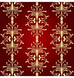 vintage seamless pattern ii vector image vector image