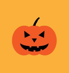 halloween pumpkin sign 109 vector image