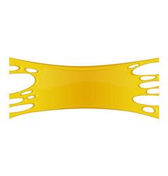 honey splash vector image