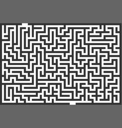 Labyrinth maze vector