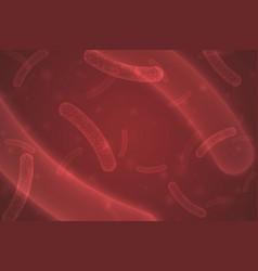 micro probiotic bacteria vector image
