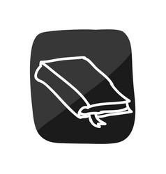 Notebook doodle cartoon vector