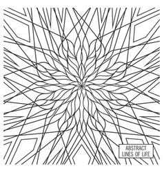 Ornate geometry design vector