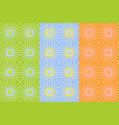 seamless pattern with pale squares and lines vector image
