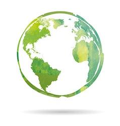 Watercolor Earth vector