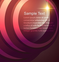abstract shiny design vector image vector image