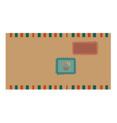 message envelope object vector image vector image