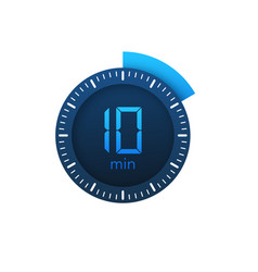 10 minutes stopwatch icon stopwatch vector