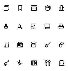 Apple Watch Icons 17 vector