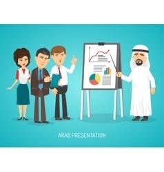 Arab Presentation Poster vector
