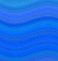 Blue abstract smooth wave background vector