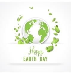 Eco image vector image