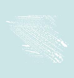 grunge texture distress blue rough trace dazzlin vector image
