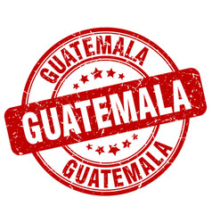 guatemala stamp vector image