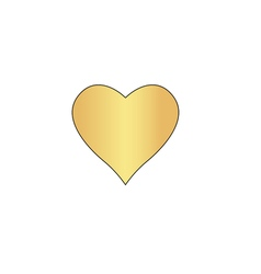 Heart computer symbol vector