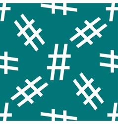 Hesh tag web icon flat design Seamless pattern vector