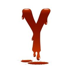 Letter Y vector image