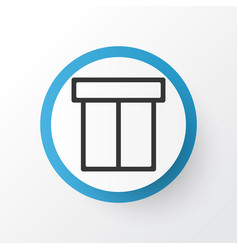 Package icon symbol premium quality isolated box vector