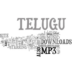 Telugu mp download text background word cloud vector