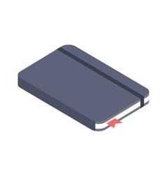 Notebook paper vector image
