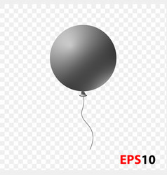 ballon isolated on a transparent vector image