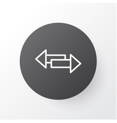 Direction arrows icon symbol premium quality vector