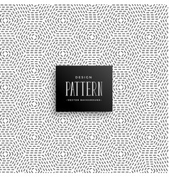 Elegant subtle line dots pattern background vector