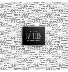 elegant subtle line dots pattern background vector image