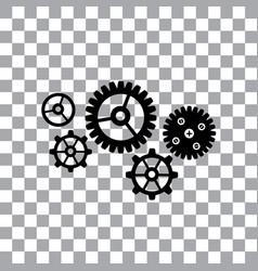 gear cog wheel symbol vector image