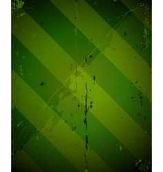 Green striped grunge military texture vector