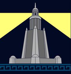 Lighthouse alexandria fourth variant vector