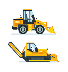 machine for cutting stacking of asphalt vector image
