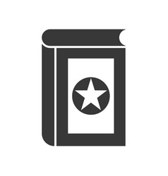 magic book halloween related icon vector image