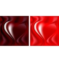 Silk heart vector